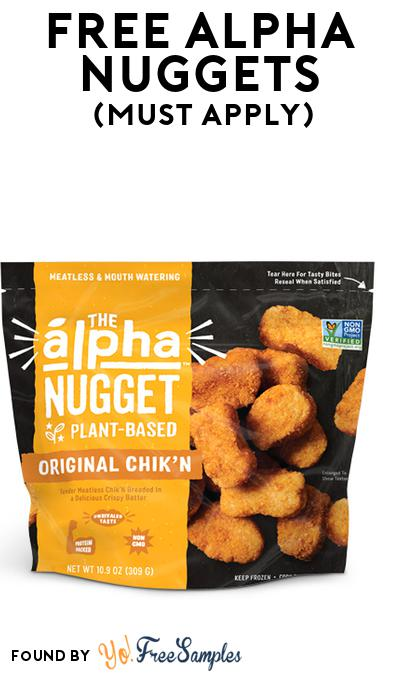 FREE Alpha Nuggets (Mom Ambassador Membership Required)
