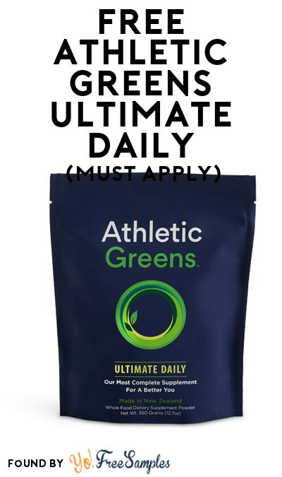 FREE Athletic Greens Ultimate Daily (Mom Ambassador Membership Required)