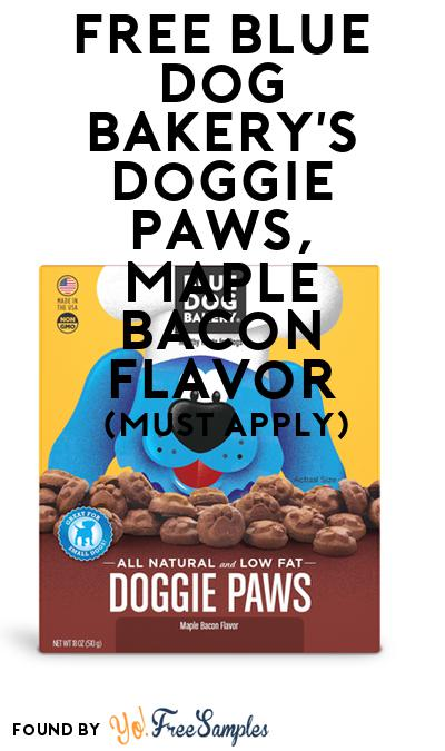 FREE Blue Dog Bakery's Doggie Paws, Maple Bacon Flavor (Mom Ambassador Membership Required)