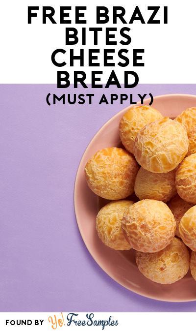 FREE Brazi Bites Cheese Bread (Mom Ambassador Membership Required)