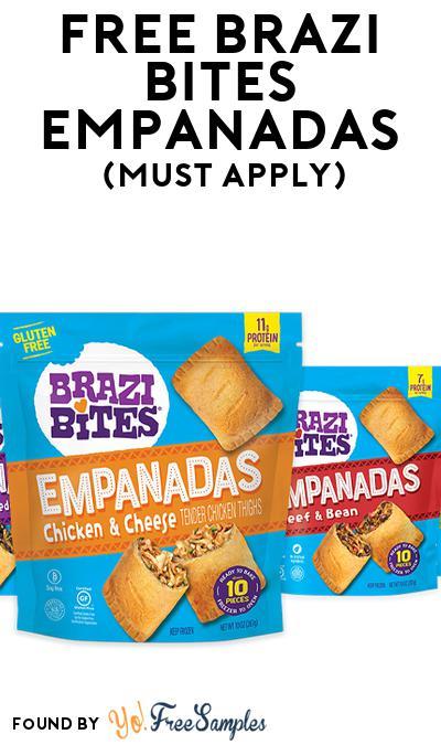 FREE Brazi Bites Empanadas (Mom Ambassador Membership Required)