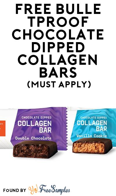 FREE Bulletproof Chocolate Dipped Collagen Bars (Mom Ambassador Membership Required)