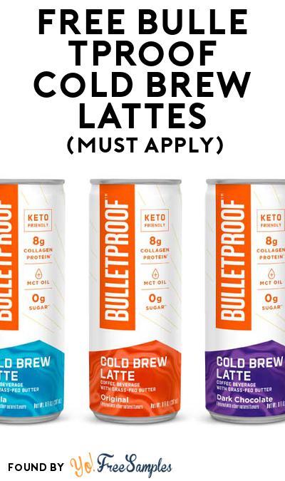 FREE Bulletproof Cold Brew Lattes (Mom Ambassador Membership Required)