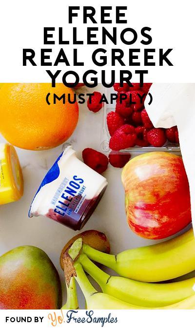 FREE Ellenos Real Greek Yogurt (Mom Ambassador Membership Required)