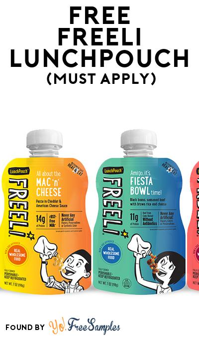 FREE Freeli LunchPouch (Mom Ambassador Membership Required)