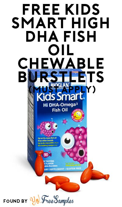 FREE Kids Smart High DHA Fish Oil Chewable Burstlets (Mom Ambassador Membership Required)