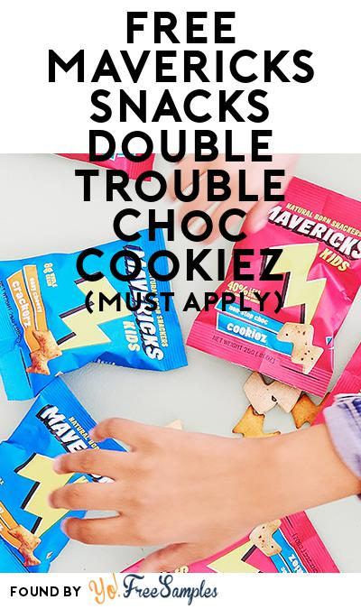 FREE Mavericks Snacks double trouble choc cookiez (Mom Ambassador Membership Required)