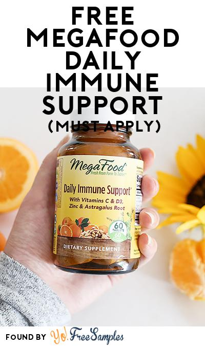 FREE MegaFood Daily Immune Support (Mom Ambassador Membership Required)