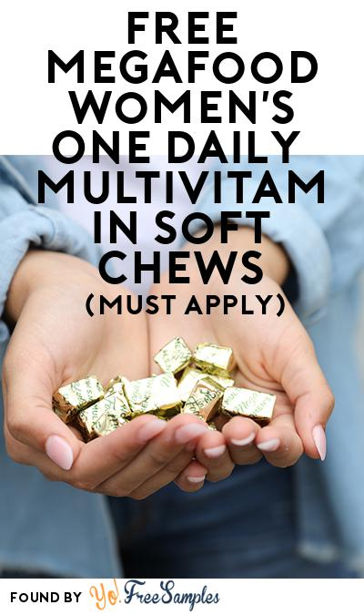 FREE MegaFood Women's One Daily Multivitamin Soft Chews (Mom Ambassador Membership Required)