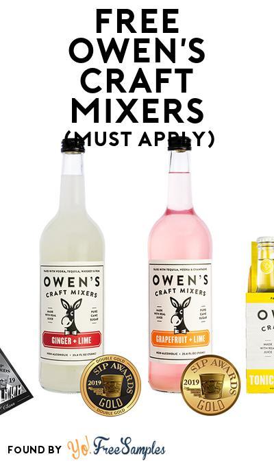 FREE Owen's Craft Mixers (Mom Ambassador Membership Required)