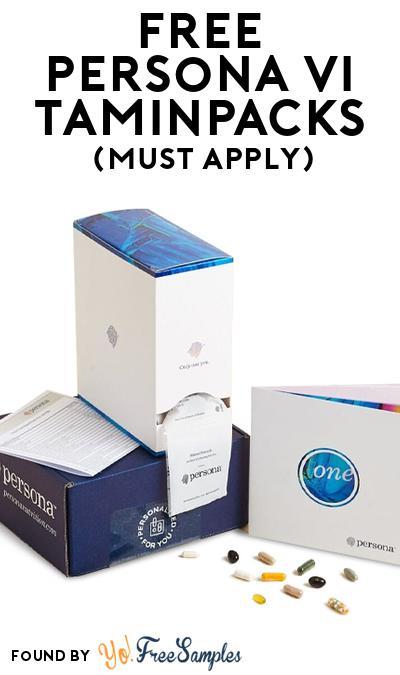FREE Persona VitaminPacks (Mom Ambassador Membership Required)