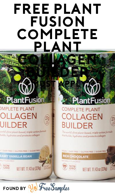 FREE PlantFusion Complete Plant Collagen Builder (Mom Ambassador Membership Required)