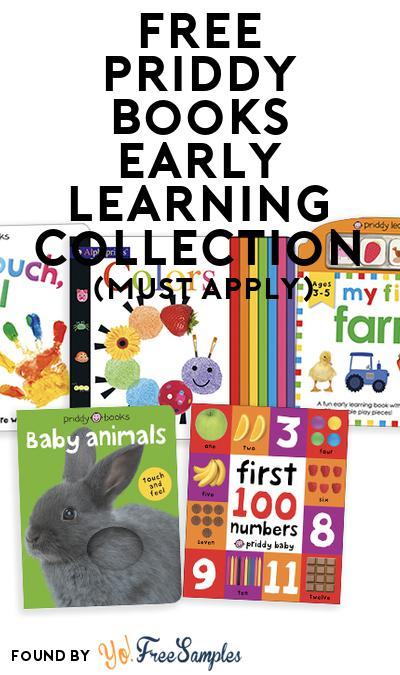FREE Priddy Books Early Learning Collection (Mom Ambassador Membership Required)