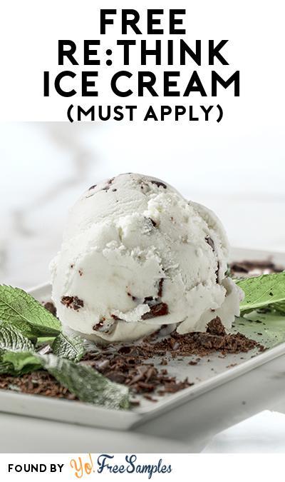 FREE Re:THINK Ice Cream (Mom Ambassador Membership Required)