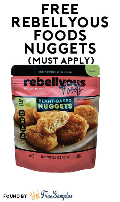 FREE Rebellyous Foods Nuggets (Mom Ambassador Membership Required)