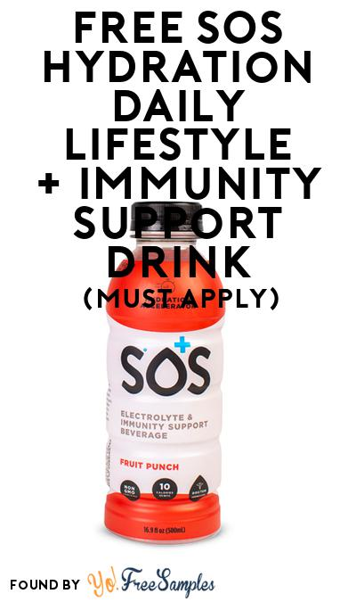 FREE SOS Hydration Daily Lifestyle + Immunity Support Drink (Mom Ambassador Membership Required)