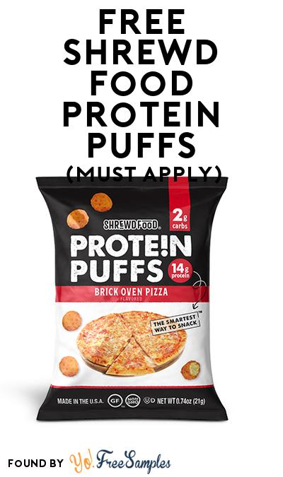 FREE Shrewd Food Protein Puffs (Mom Ambassador Membership Required)