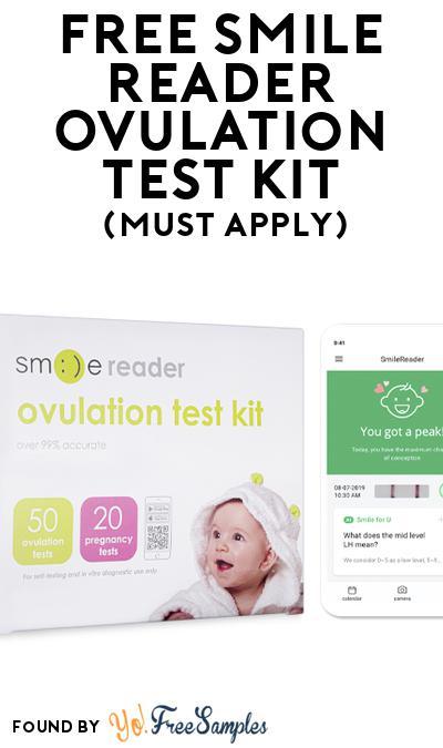 FREE SmileReader Ovulation Test Kit (Mom Ambassador Membership Required)