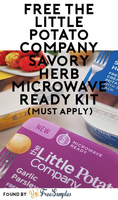 FREE The Little Potato Company Savory Herb Microwave Ready Kit (Mom Ambassador Membership Required)