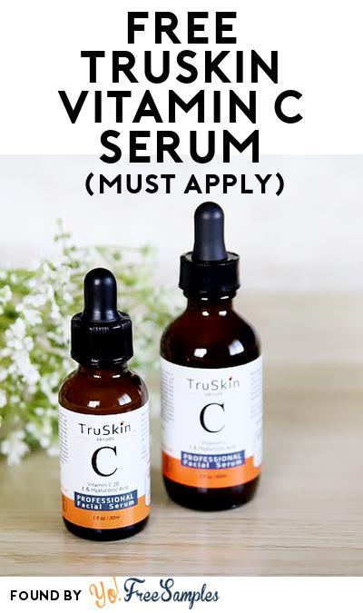 FREE TruSkin Vitamin C Serum (Mom Ambassador Membership Required)
