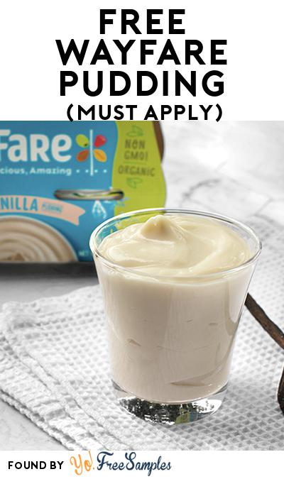 FREE WayFare Pudding (Mom Ambassador Membership Required)