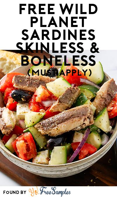 FREE Wild Planet Sardines Skinless & Boneless (Mom Ambassador Membership Required)