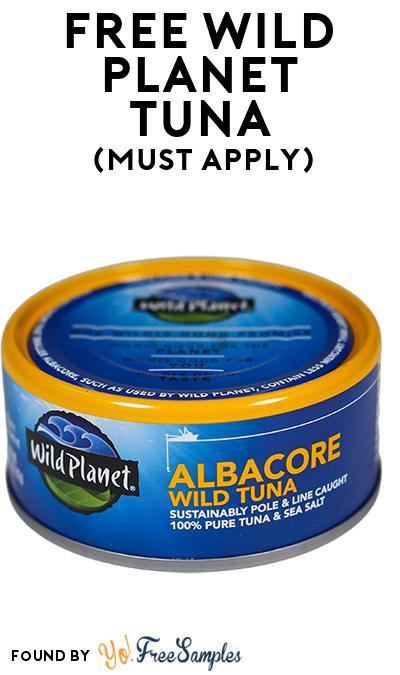 FREE Wild Planet Tuna (Mom Ambassador Membership Required)