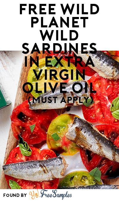 FREE Wild Planet Wild Sardines in Extra Virgin Olive Oil (Mom Ambassador Membership Required)