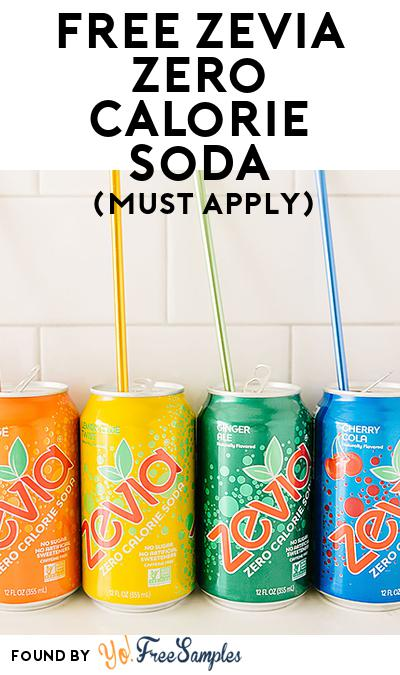 FREE Zevia Zero Calorie Soda (Mom Ambassador Membership Required)