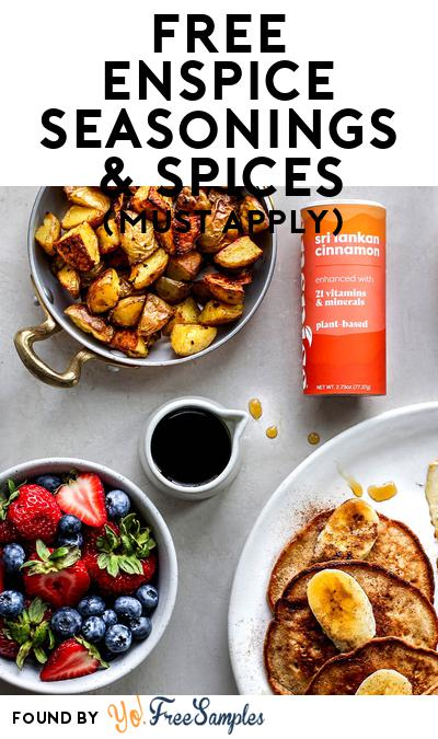 FREE enspice seasonings & spices (Mom Ambassador Membership Required)