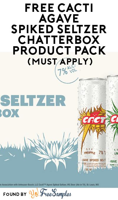 FREE Cacti Agave SpikedSeltzer Chatterbox Product Pack (21+ Only, Select States, Must Apply)