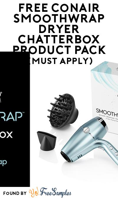 FREE Conair SmoothWrap Dryer Chatterbox Product Pack (Must Apply)