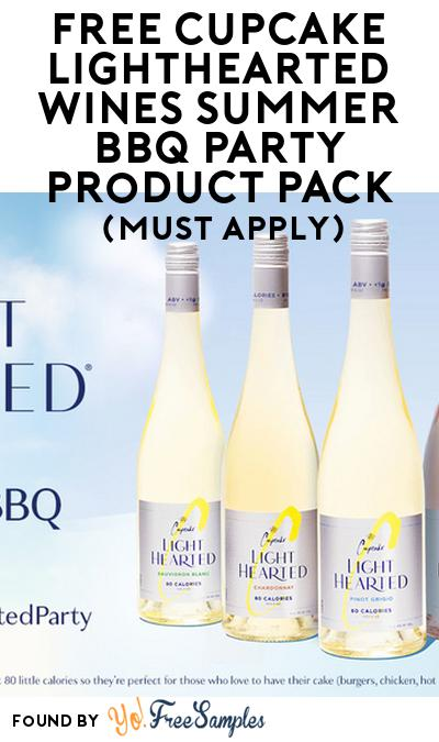 FREE Cupcake Lighthearted Wines Summer BBQ Party Product Pack (21+ Only, Select States, Must Apply)