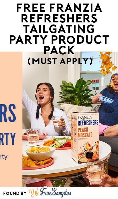 FREE Franzia Refreshers Tailgating Party Product Pack (21+ Only, Select States, Must Apply)