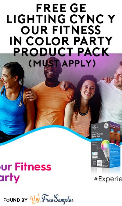 FREE GE Lighting CYNCYourFitness inColorParty Product Pack (Must Apply)