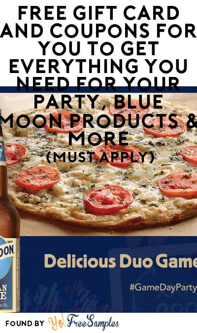 FREE American Flatbread Pizza, Blue Moon Products, Coupons & More (21+ Only, Select States, Must Apply)