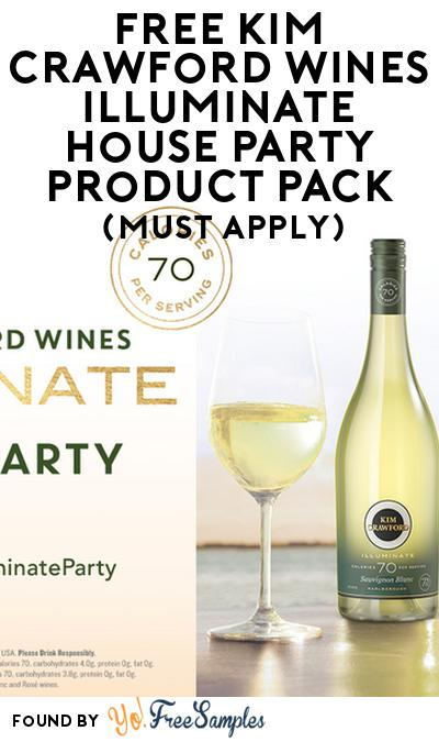 FREE Kim Crawford Wines Illuminate House Party Product Pack (21+ Only, Select States, Must Apply)