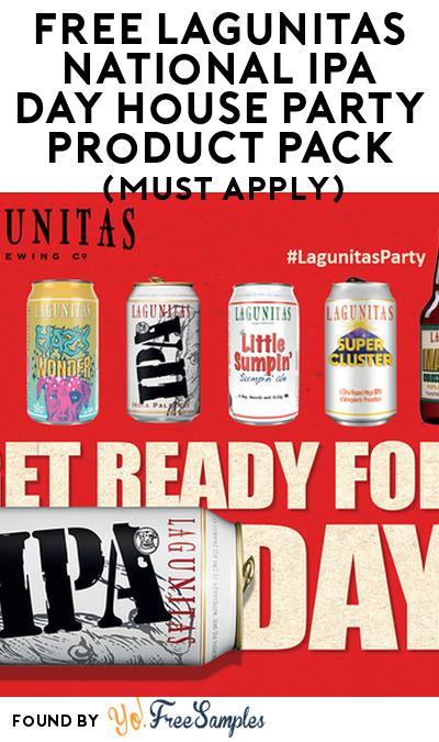 FREE Lagunitas National IPA Day House Party Product Pack (21+ Only, Select States, Must Apply)