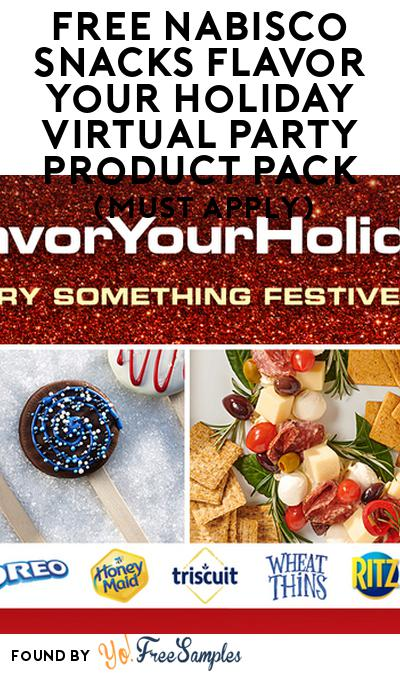 FREE Nabisco Snacks Flavor Your Holiday Virtual Party Product Pack (Must Apply)