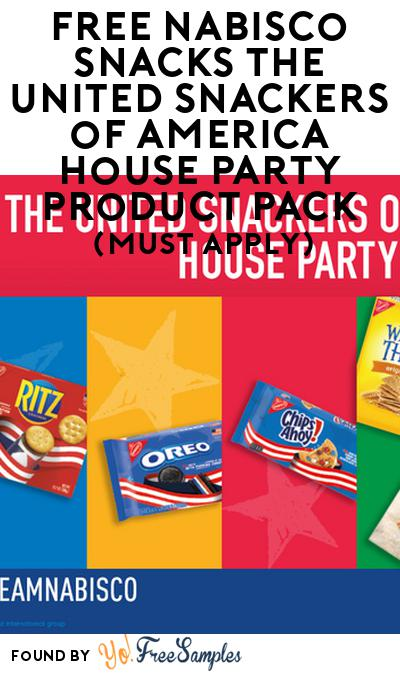 FREE Nabisco Snacks The United Snackers of America House Party Product Pack (Must Apply)
