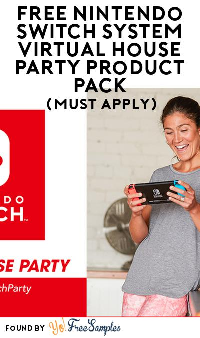 FREE Nintendo Switch System Virtual House Party Product Pack (Must Apply)