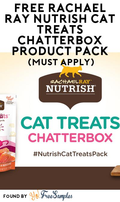 FREE Rachael RayNutrish Cat Treats Chatterbox Product Pack (Must Apply)