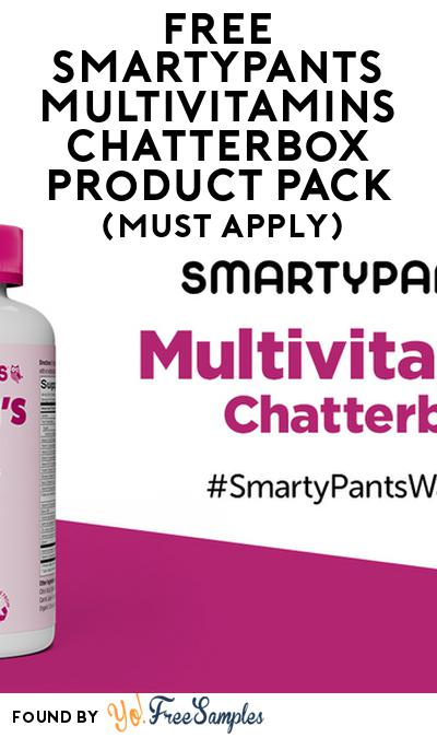 FREE Smartypants Multivitamins Chatterbox Product Pack (Must Apply)