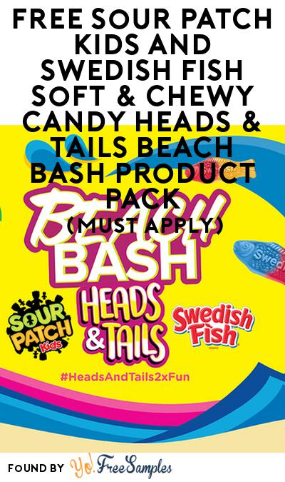 FREE Sour Patch Kids And Swedish Fish Soft & Chewy Candy Heads & Tails Beach Bash Product Pack (Must Apply)