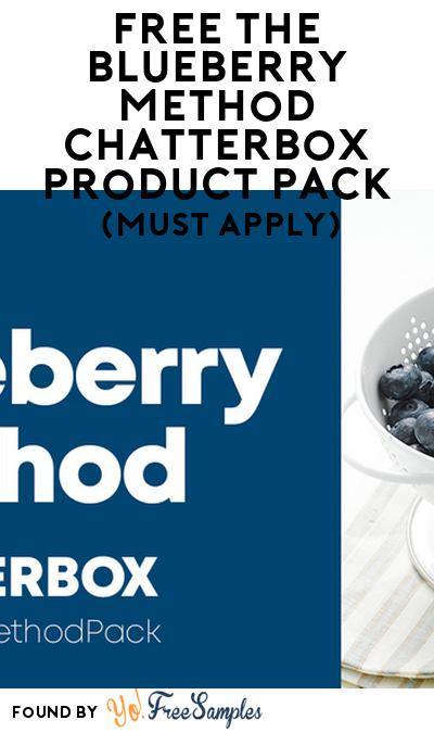 FREE The Blueberry Method Chatterbox Product Pack (Must Apply)