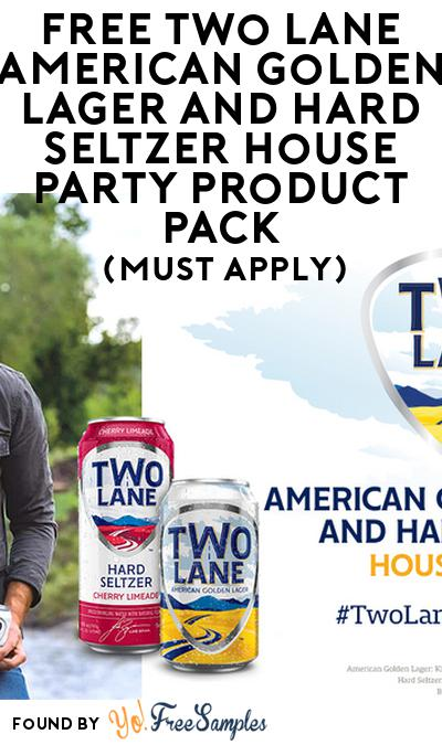 FREE Two Lane American Golden Lager and Hard Seltzer House Party Product Pack (21+ Only, Select States, Must Apply)