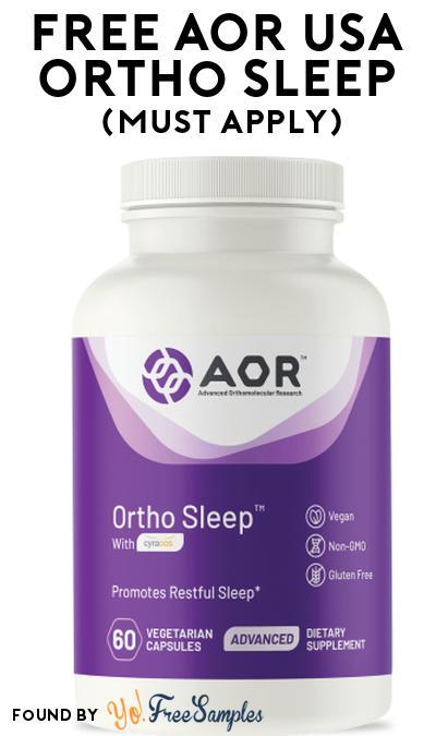 FREE AOR USA Ortho Sleep At Social Nature (Must Apply)
