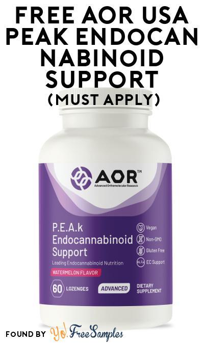 FREE AOR USA Peak Endocannabinoid Support At Social Nature (Must Apply)