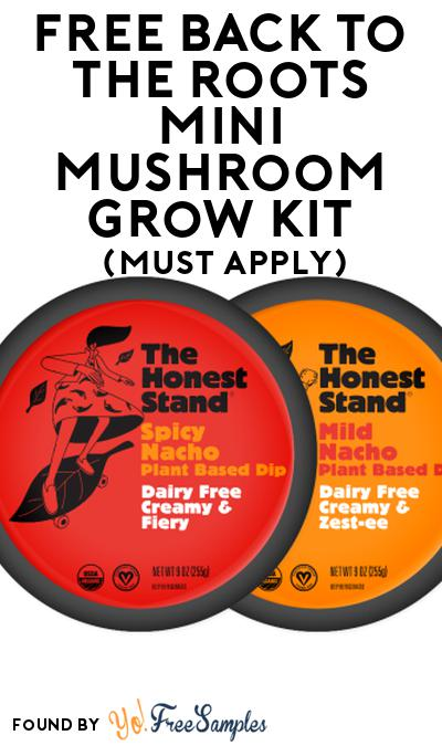 FREE Back to the Roots Mini Mushroom Grow Kit At Social Nature (Must Apply)