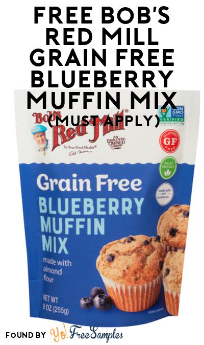 FREE Bob's Red Mill Grain Free Blueberry Muffin Mix At Social Nature (Must Apply)